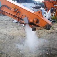 Aquaco Staubbindemaschine – Festinstallierte Anbauösunge
